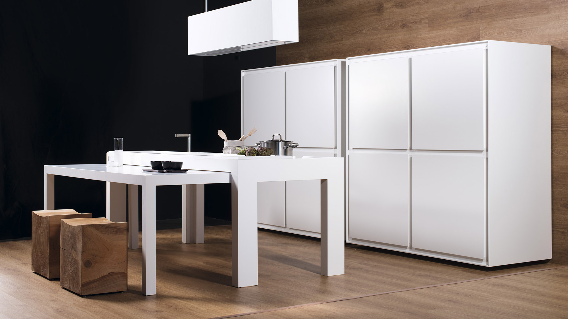 OFF KITCHEN: cucina a scomparsa freestanding per ufficio - Inspired-Lab_OFF