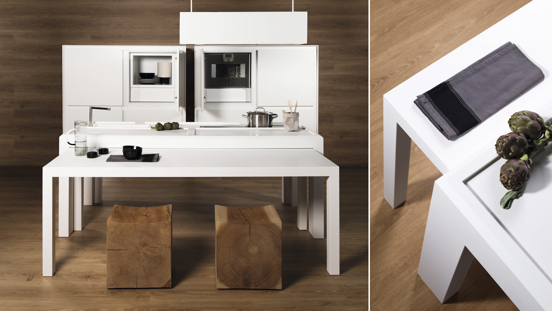 OFF KITCHEN: cucina a scomparsa freestanding per ufficio - Inspired-Lab_OFF_02b