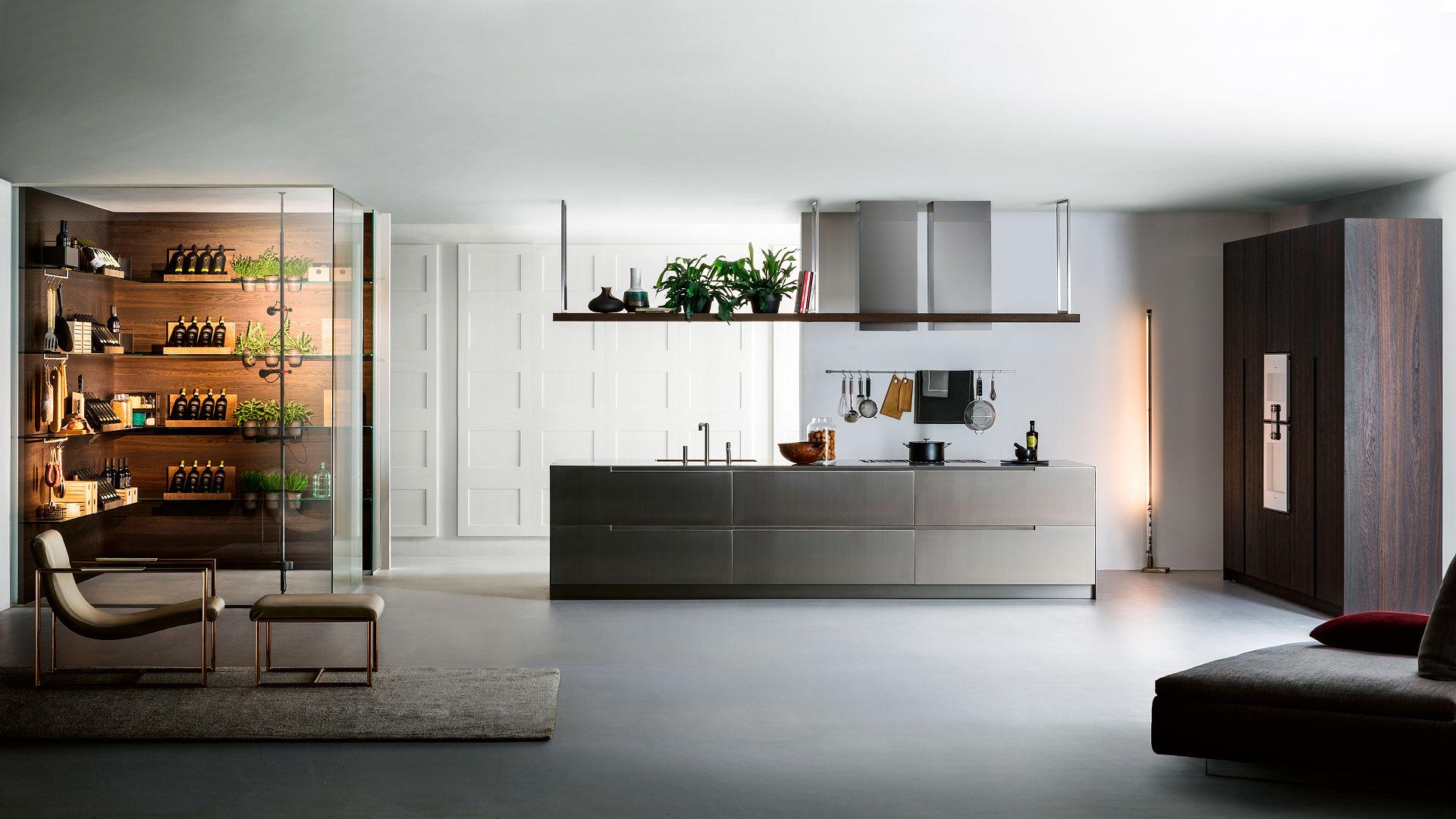 Cucina in legno e acciaio G180 | Collezioni Cucine 2018 TM Italia - TM_CAT_G180_001