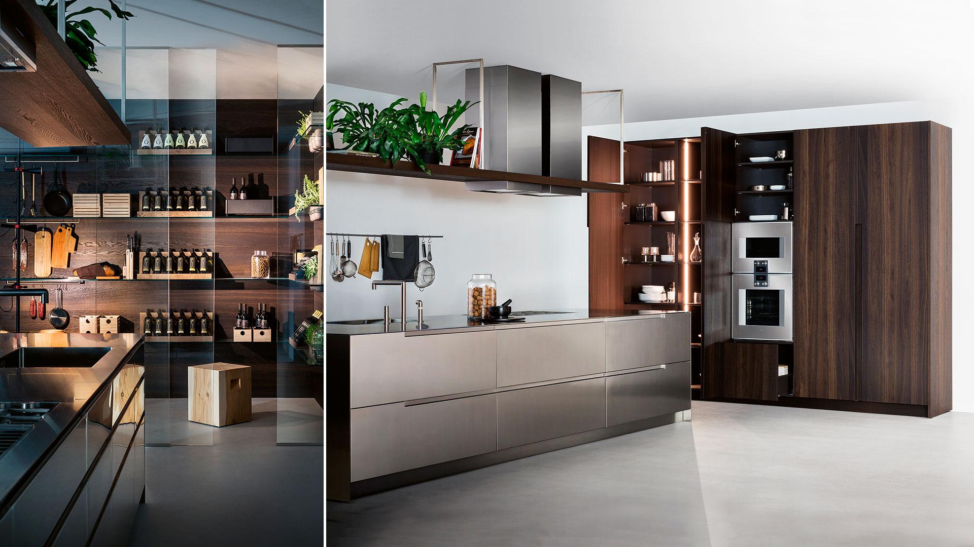 Cucina in legno e acciaio G180 | Collezioni Cucine 2018 TM Italia - TM_CAT_G180_002
