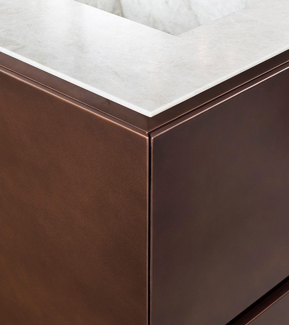 Freestanding kitchen with island   TM Italia 2018 Kitchens Collection - TM_CAT_RE_T30E_DETTAGLIO-CONCEPT-AIR-1-1