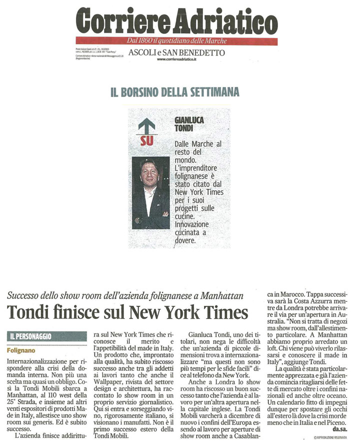Corriere Adriatico (11/2013)