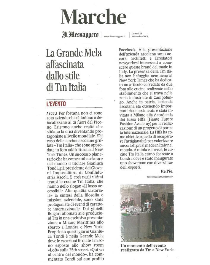Il Messaggero (11/2013)