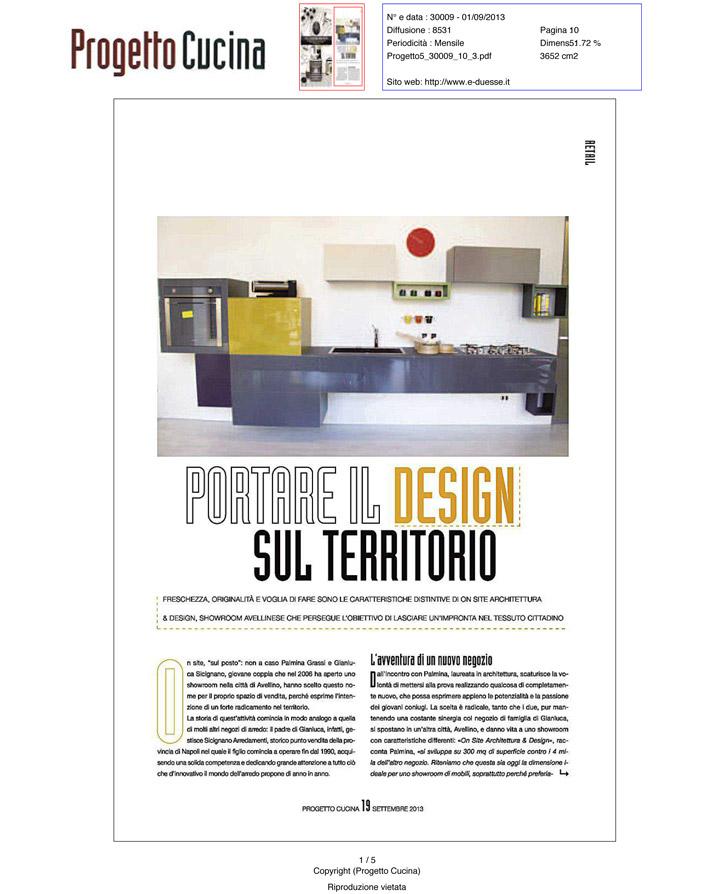 Progetto Cucina (09/2013)