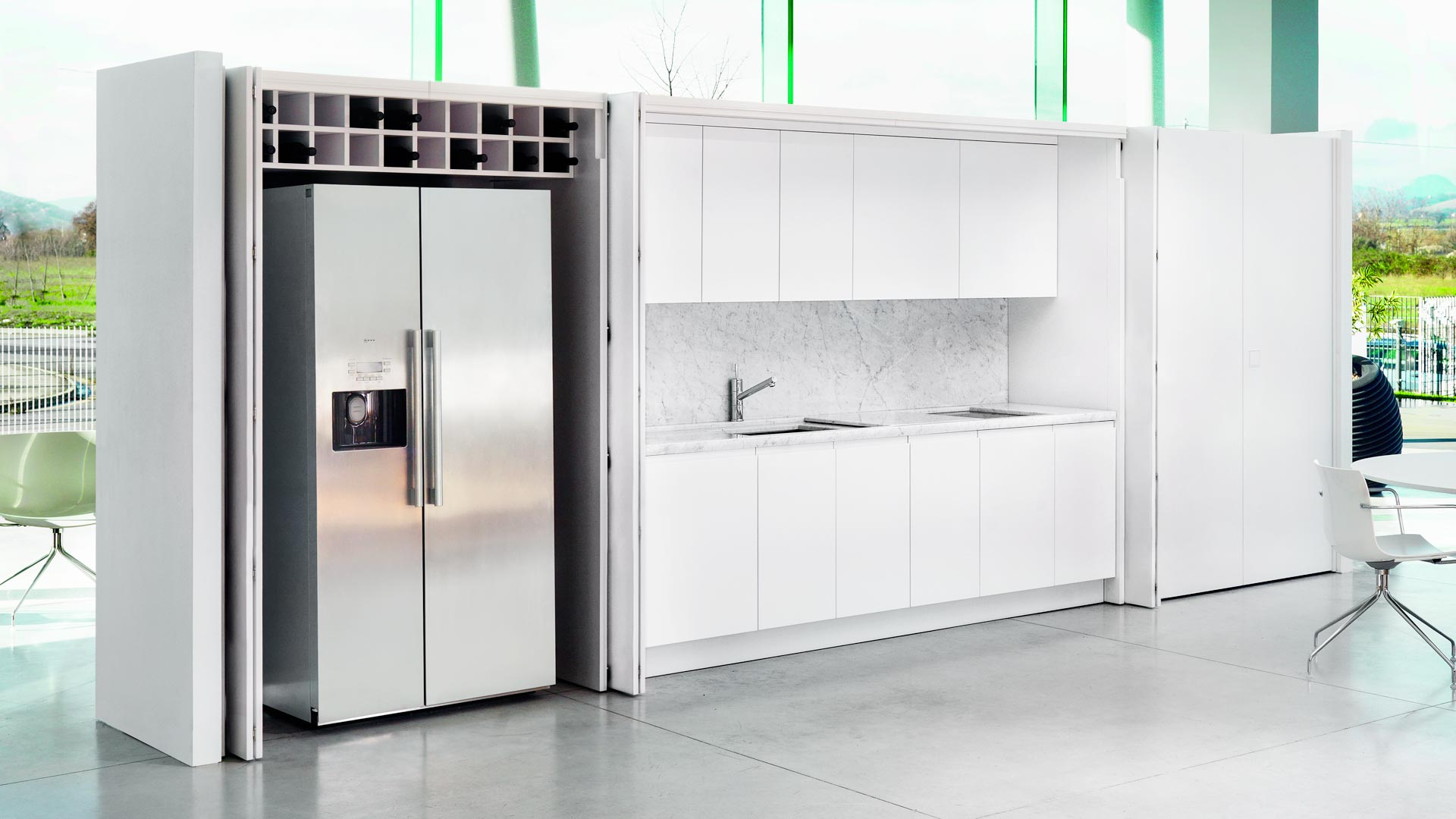 Cucina armadio freestanding for Cucina in armadio