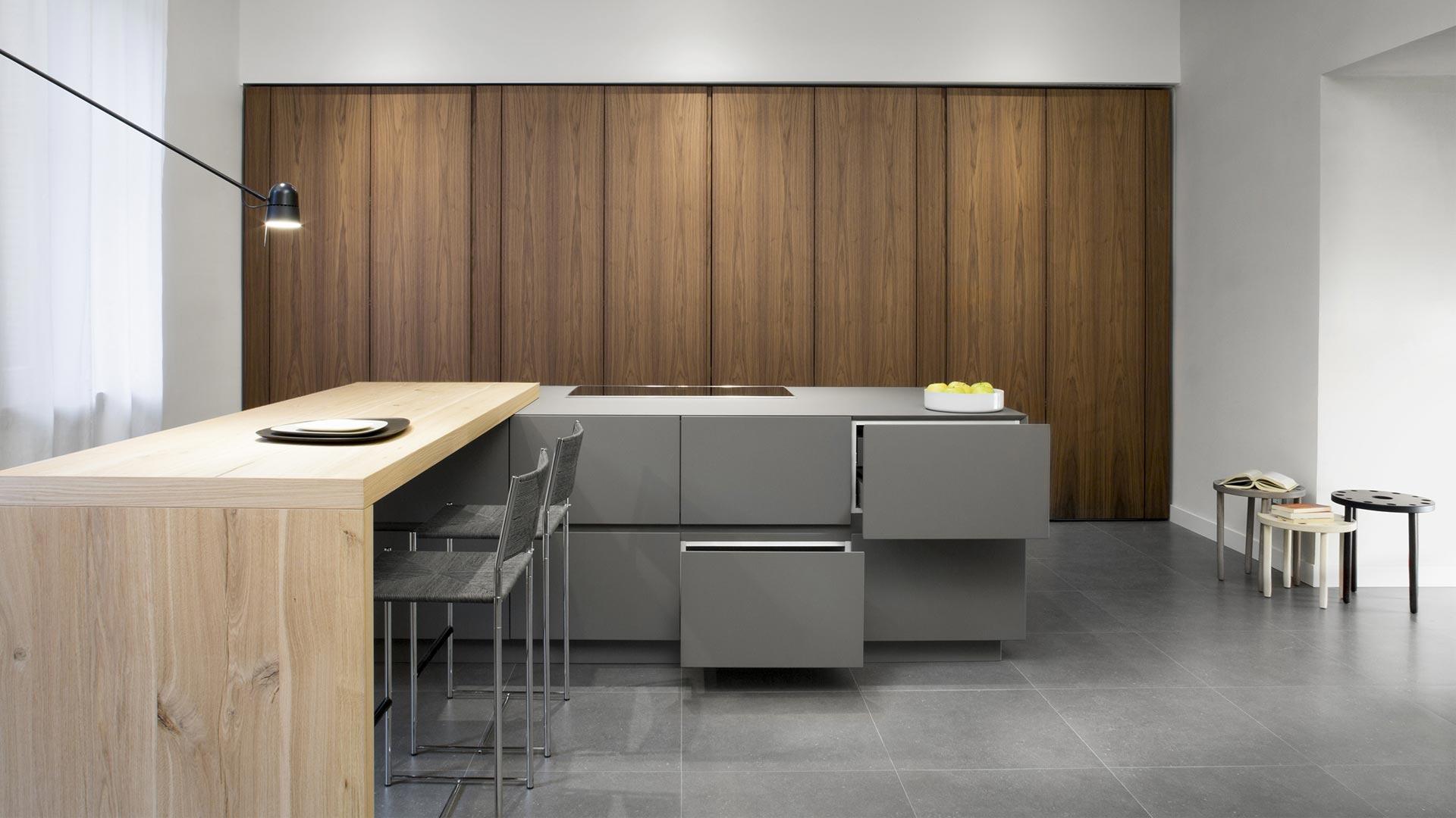 retractable kitchen