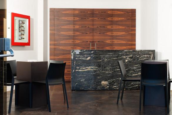 Per Love IT ad Expo Milano 2015, TM Italia ha realizzato una show kitchen elegante, solida e robusta
