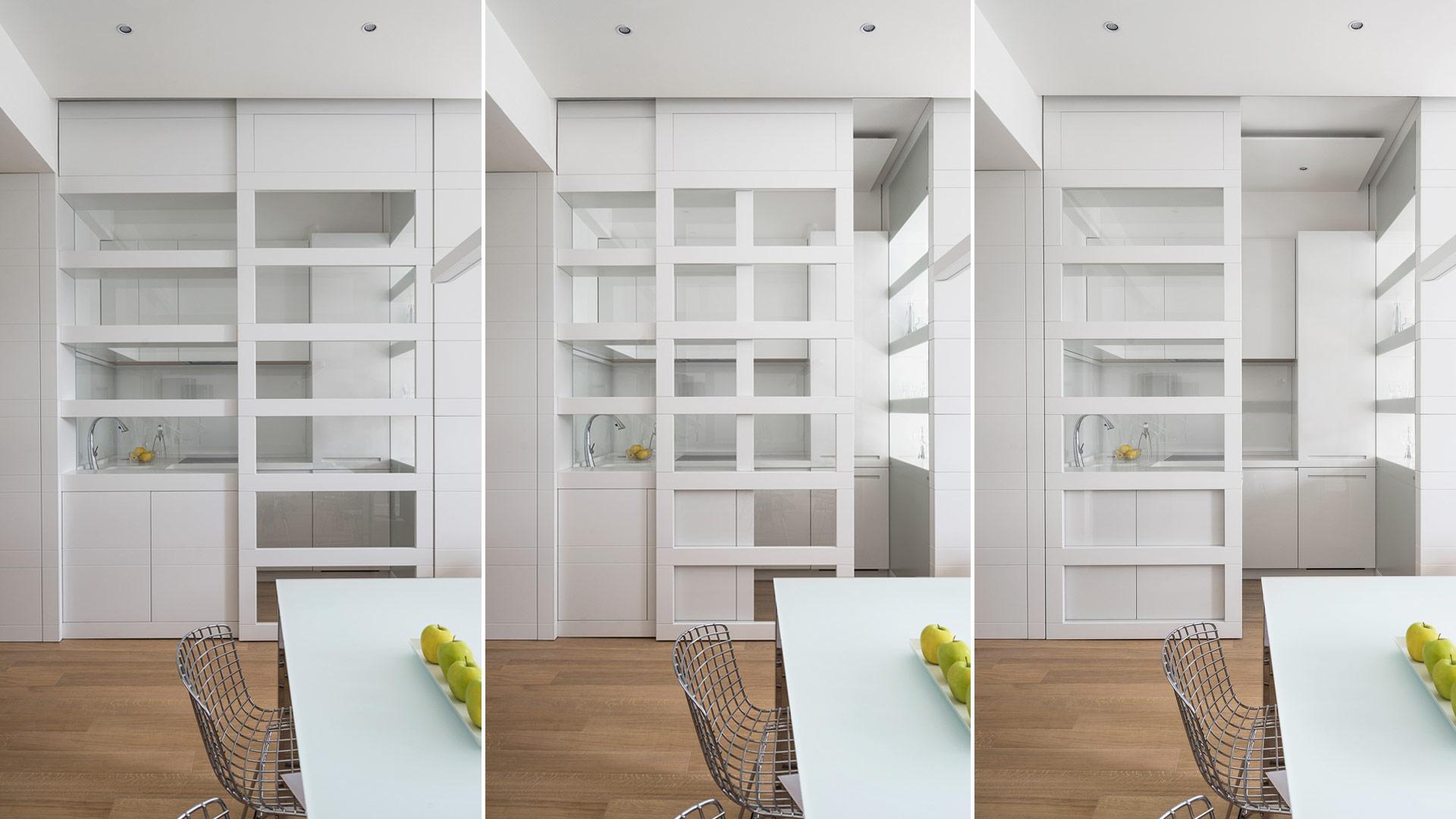 Interior: Private apartment in Rome with a simple, unique and functional design - TM Italia - Area-contract-Cicchetti-03