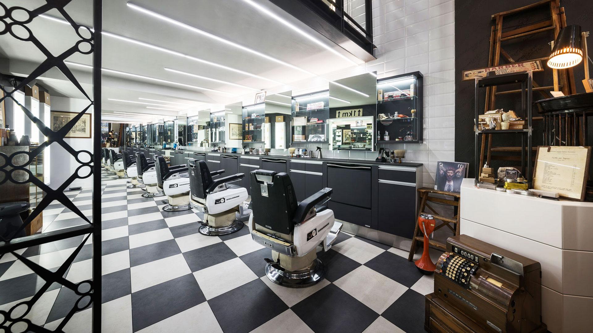Progetto Contract Retail Salone di bellezza Mauri Lugano - TM_CH_LU_MAURI_04