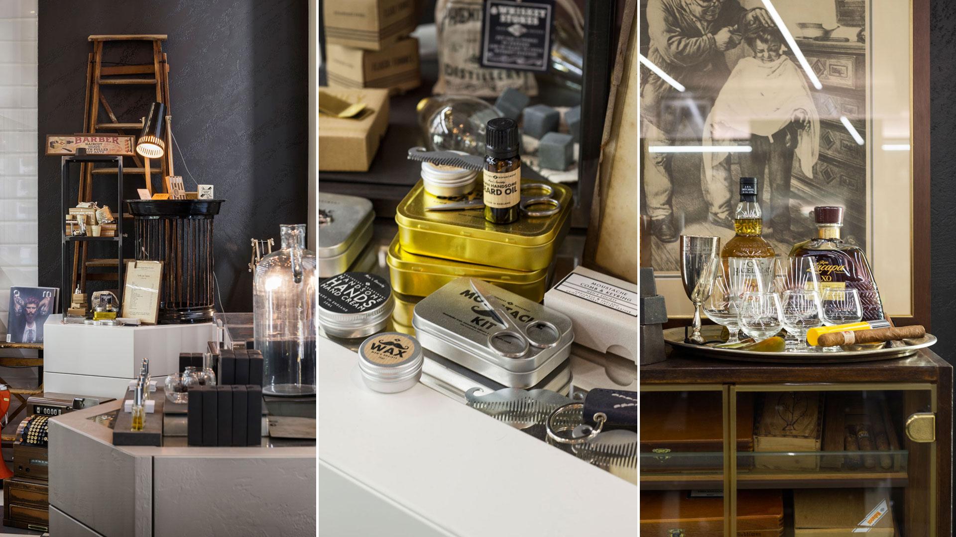Progetto Contract Retail Salone di bellezza Mauri Lugano - TM_CH_LU_MAURI_06