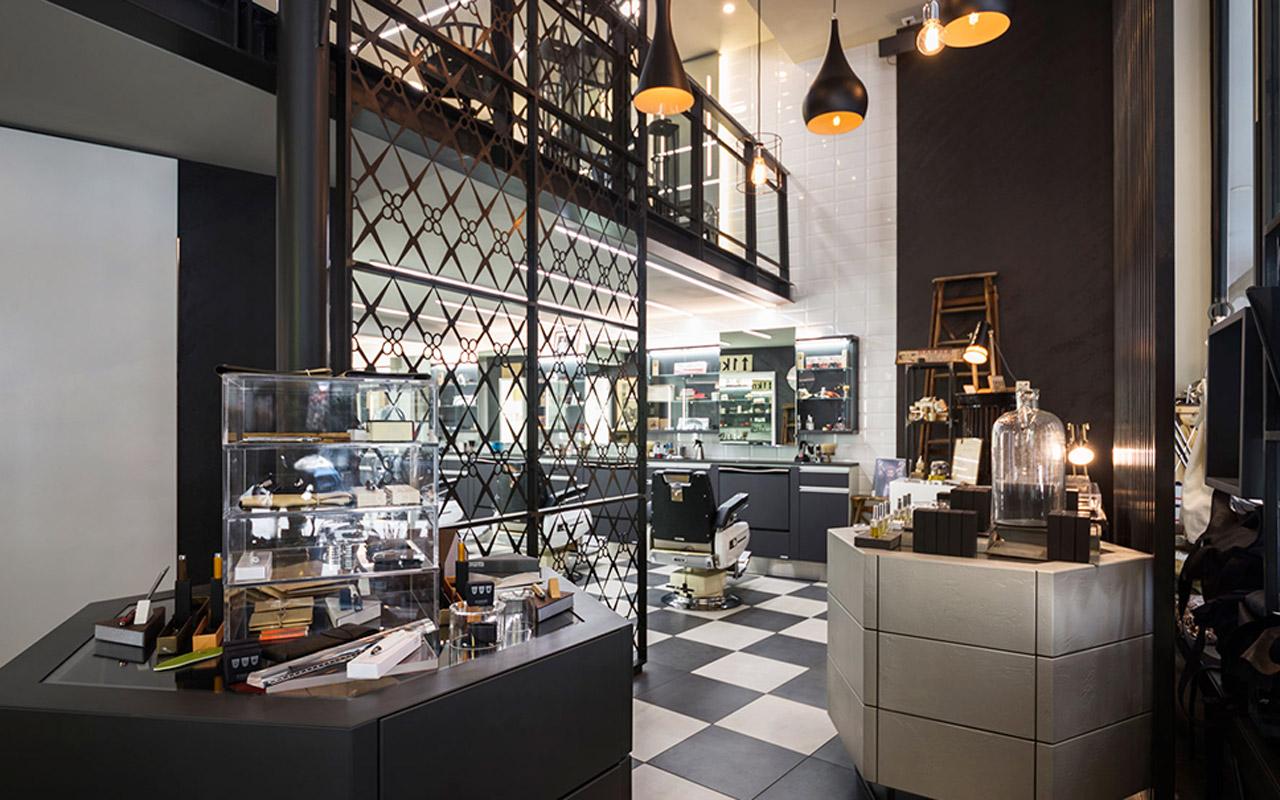 Progetto Contract Retail Salone di bellezza Mauri Lugano - TM_CH_LU_MAURI_boutique03