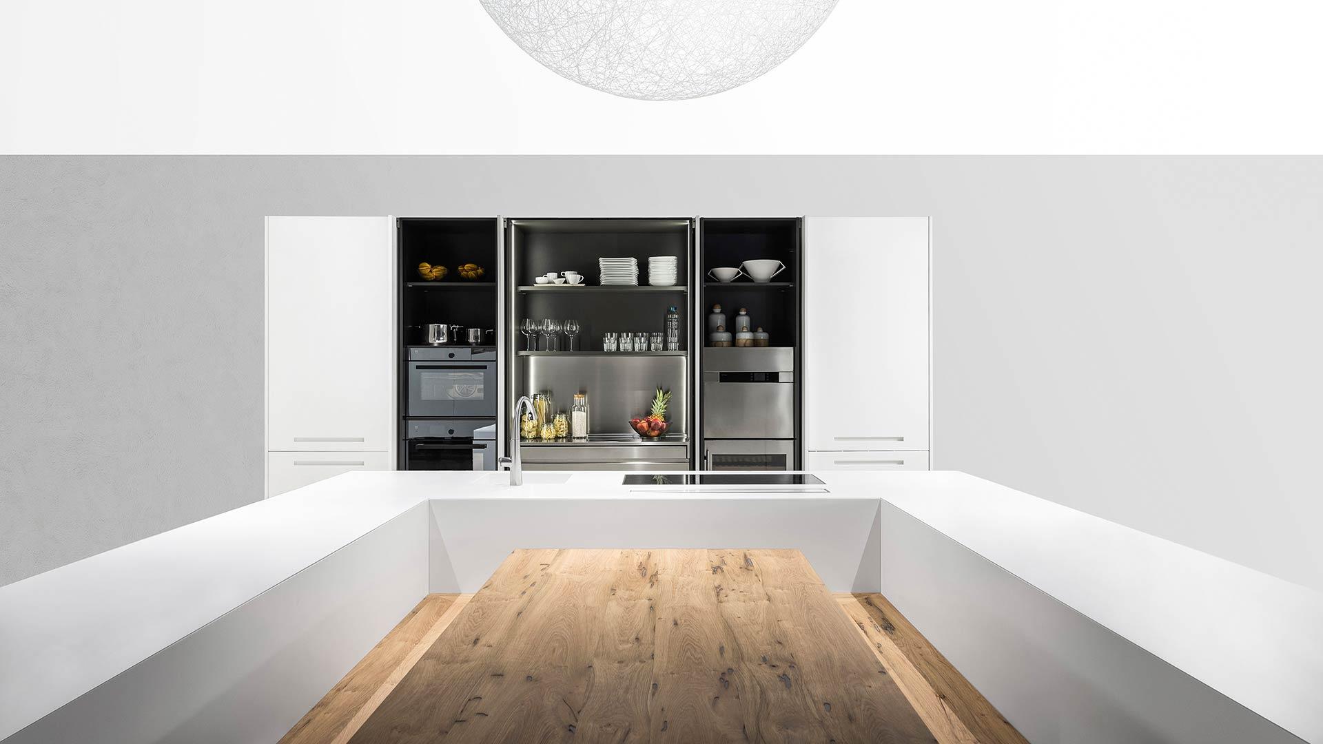 CONCEALED KITCHEN INTEGRATED INTO THE LIVING ARE - TM_G180_lugano_Ferro_di_cavallo_004