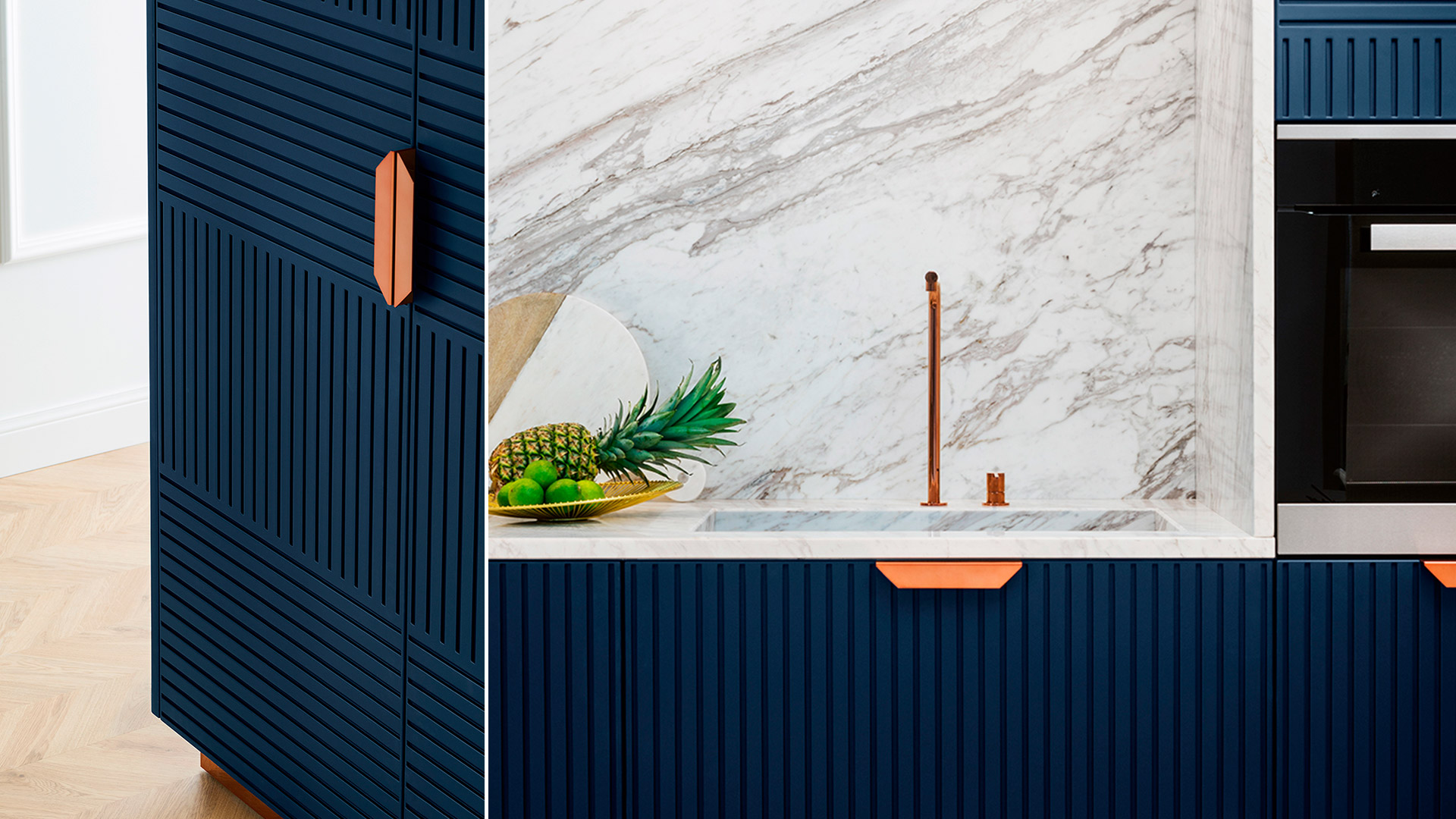 Stone kitchen with island or peninsula MIUCCIA | TM Italia 2018 Kitchens Collection - TM_CAT_MIU_002