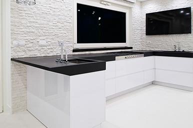 20140501 – Cucina Con Penisola Con Top In Quarzo