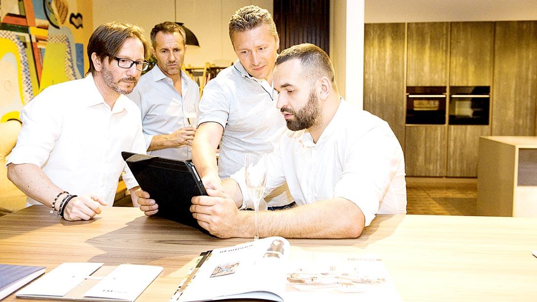 Presentati a Kiev due progetti cucina inediti nell'Atelier TM Italia Dominio - Cucine su Misura | TM Italia Cucine - dominio-ews-gallery-3