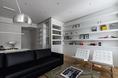 Interior: appartamento privato a Roma essenziale, unico e funzionale