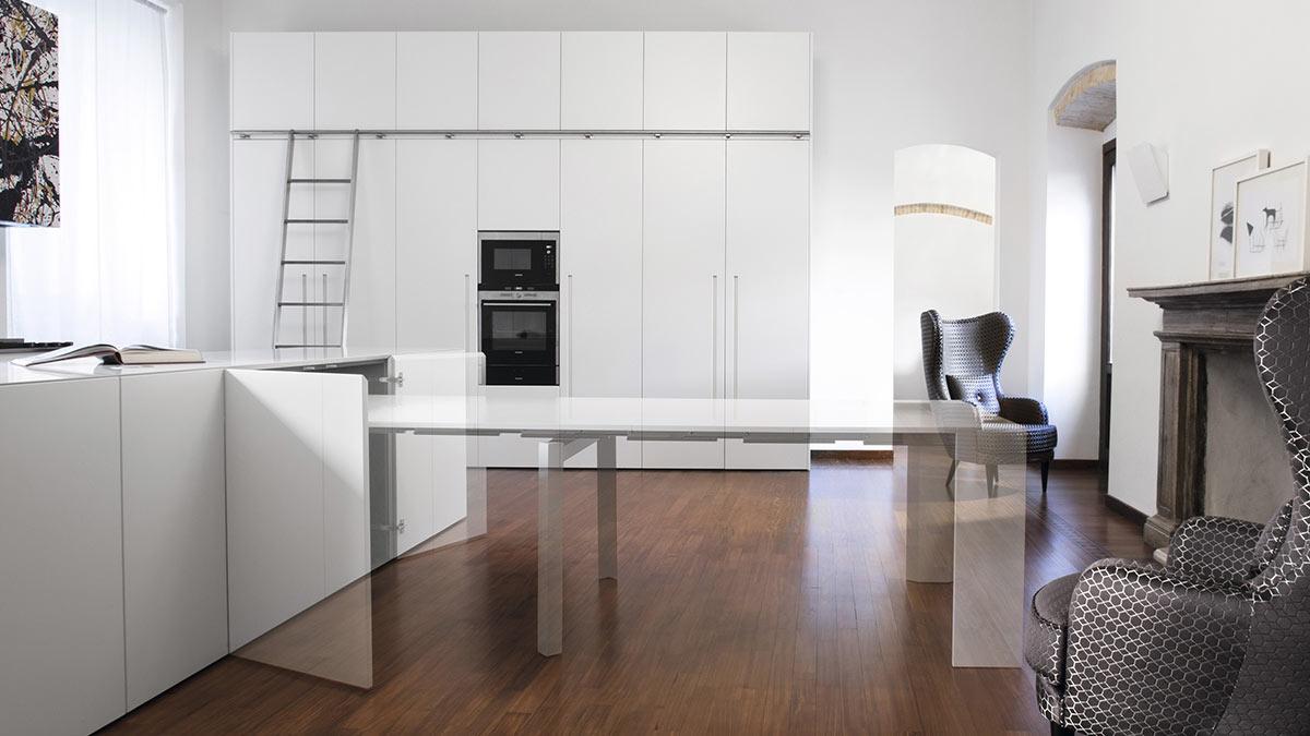 Cucina e Living: soluzioni su misura per arredare l'open space - 4-SOLUZIONISALVASPAZIO-20141207