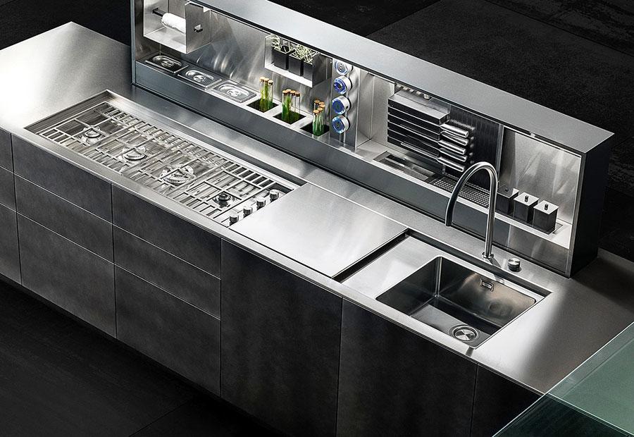 Cucina e Living: soluzioni su misura per arredare l'open space - D90-12-dispensaaperta