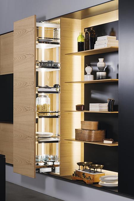 Cucina e Living: soluzioni su misura per arredare l'open space - FXcarbon-dispensa