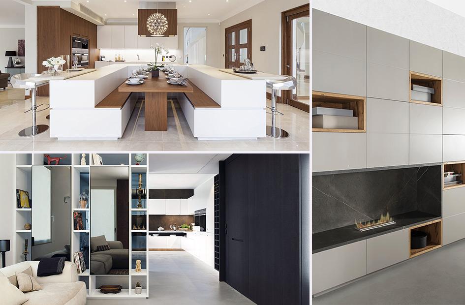 Cucina e living soluzioni su misura per arredare l 39 open space for Idee cucina living