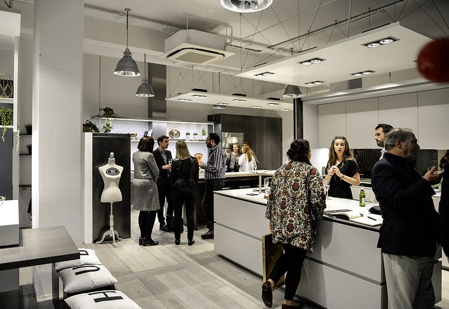 A Londra due nuovi progetti cucina su misura per il nuovo showroom di HUB Kitchen - TMItalia_eventolondra-HUBKITCKEN_gallery-2
