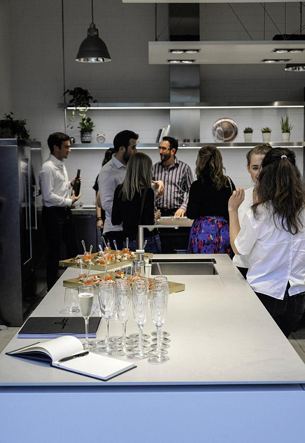 A Londra due nuovi progetti cucina su misura per il nuovo showroom di HUB Kitchen - TMItalia_eventolondra-HUBKITCKEN_gallery-4