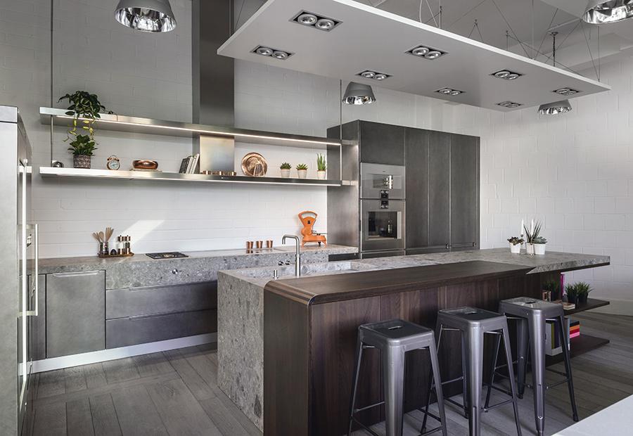 A Londra due nuovi progetti cucina su misura per il nuovo showroom di HUB Kitchen - TM_LN17_0001