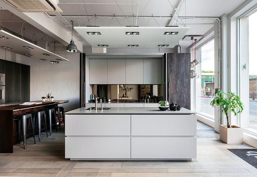 A Londra due nuovi progetti cucina su misura per il nuovo showroom di HUB Kitchen - TM_LN17_0010