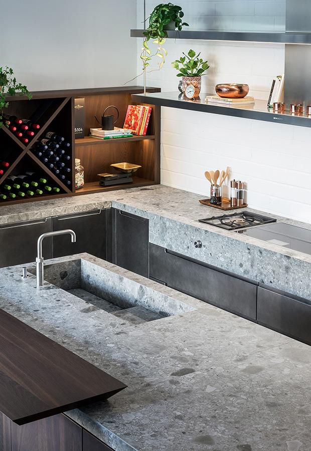 A Londra due nuovi progetti cucina su misura per il nuovo showroom di HUB Kitchen - TM_LN17_D900004