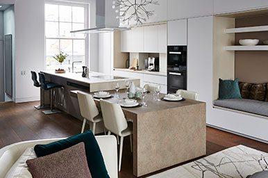 Cucine Moderne Con Tavolo A Scomparsa.Cucine Design E Cucine Su Misura Made To Measure Progettazione
