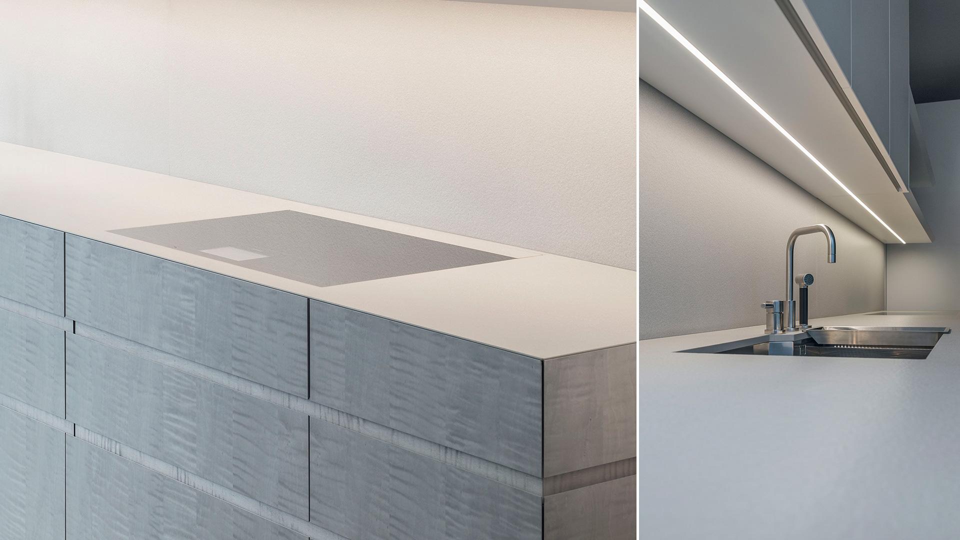 Linear Kitchen with sycamore and quartz - TM_LN17_LAUREN_T45-EVO_003