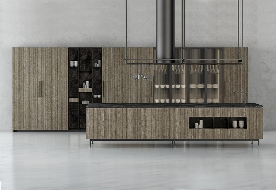 TM ITALIA AL SALONE 2018 CON TRE INEDITI MODELLI CUCINA - Cucine su Misura | TM Italia Cucine - TMI-NEWS-SALONE-gallery-1