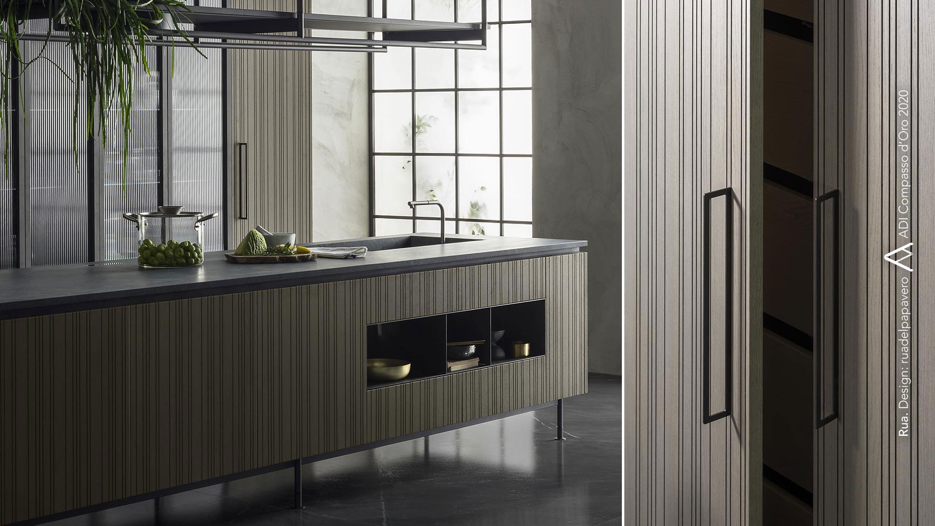 Cucina con isola e cucina il legno collezione RUA - collezione_rua-004