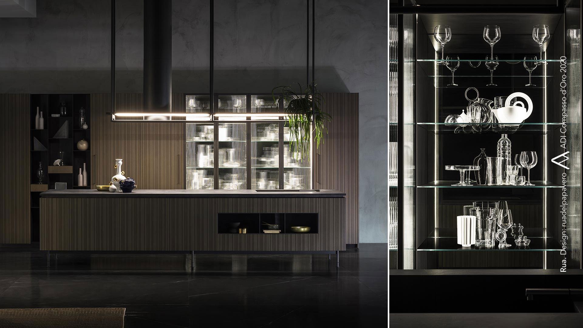 Cucina con isola e cucina il legno collezione RUA - collezione_rua-007