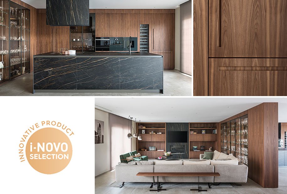 Il progetto cucina&living sviluppato con AD Arredamenti selezionato per I-NOVO Design Awards