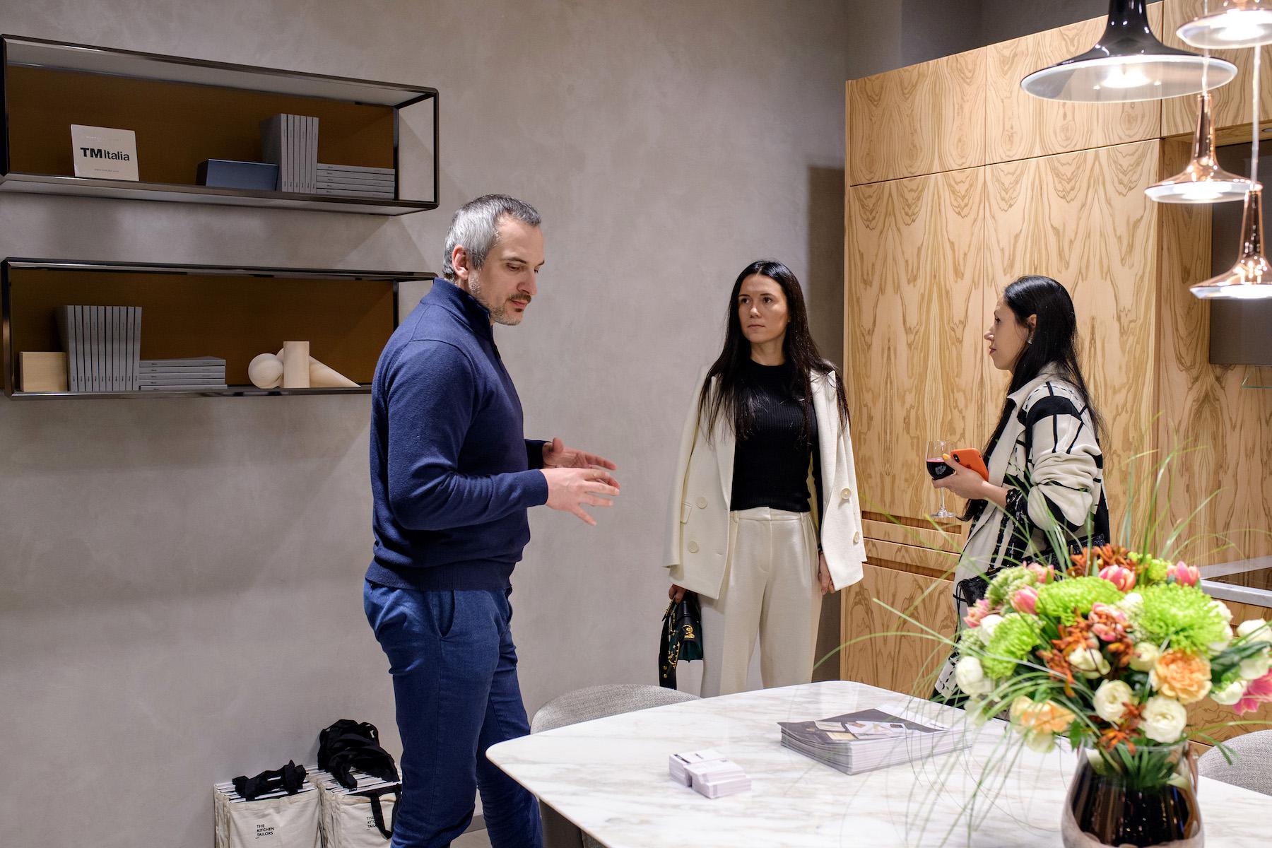 TM Italia inaugurates its first mono-brand atelier in Kiev, Ukraine - IND_5094