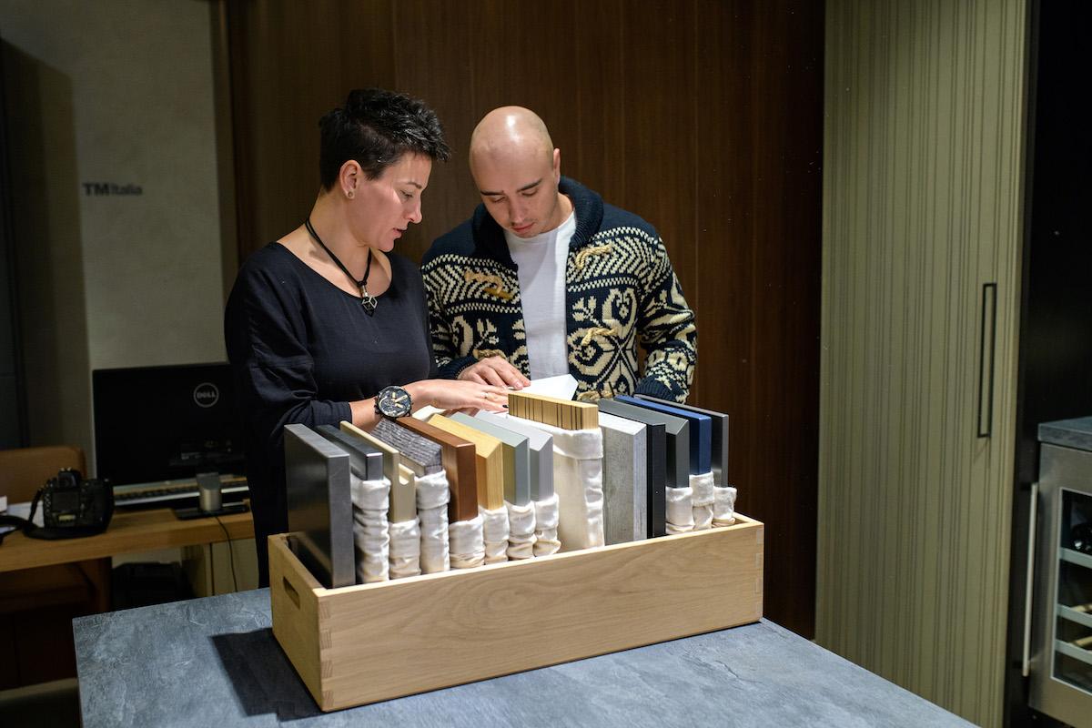 TM Italia inaugurates its first mono-brand atelier in Kiev, Ukraine - IND_5111