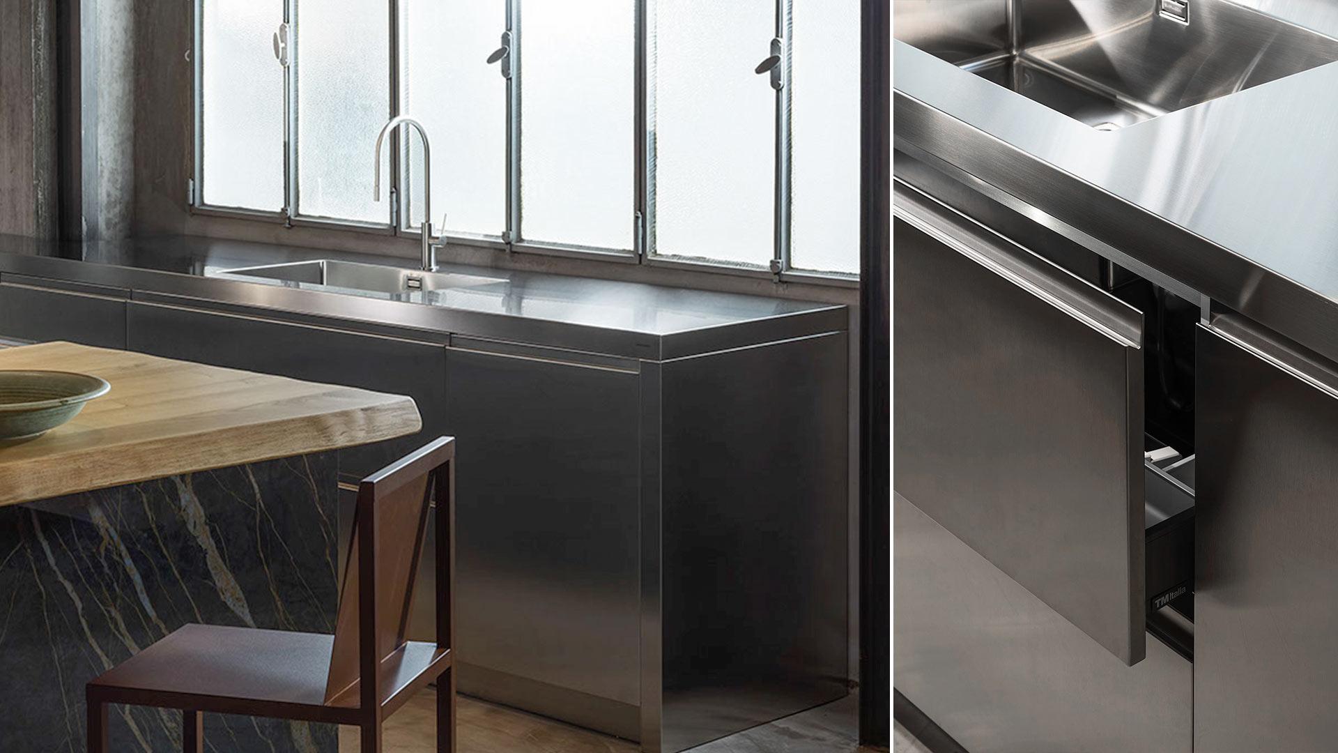 Con Ikonos Design, un progetto cucina realizzato all'interno dello showroom a Roma - TM19_RM_G180-D90-IKN_expo2_003