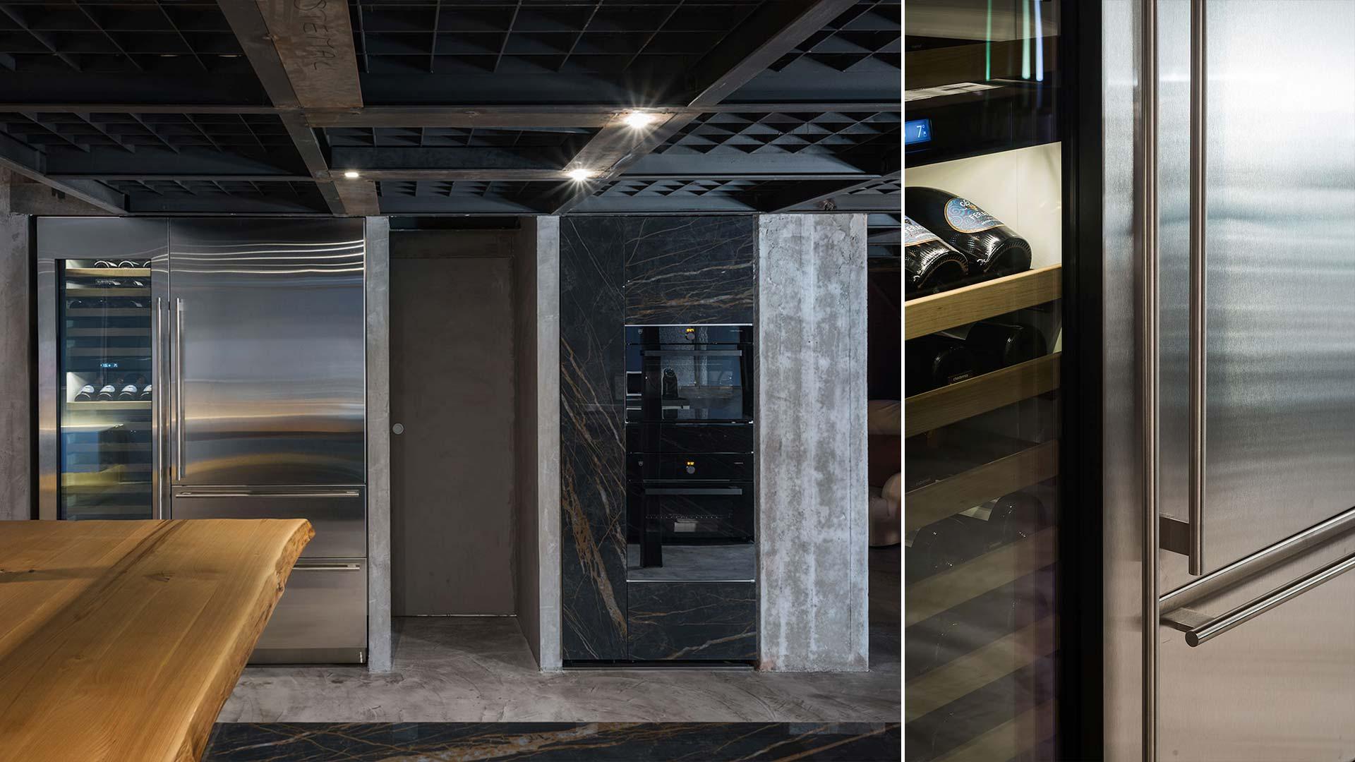Con Ikonos Design, un progetto cucina realizzato all'interno dello showroom a Roma - TM19_RM_G180-D90-IKN_expo2_004