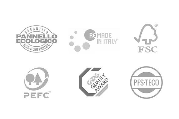 Certifications and environment | TM Italia Design Kitchens Projects - TM_Italia_Identità-aziendale_certificazioni-pattern-1