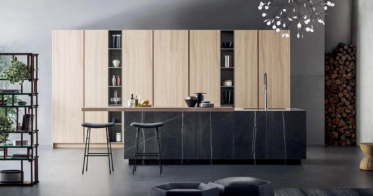 Cucine in materiali naturali | Progetti Cucine Design TM Italia - archivio-materiali-Inspiring-T45-1