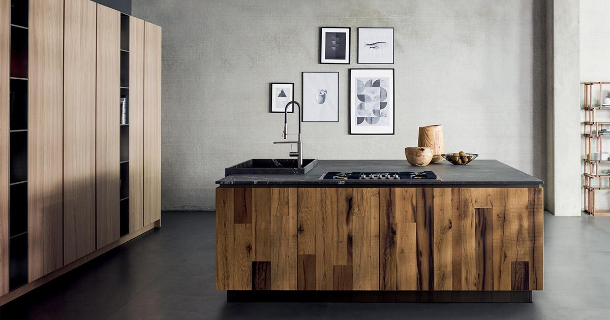 Cucine in materiali naturali | Progetti Cucine Design TM Italia - archivio-materiali-Inspiring-T45-2
