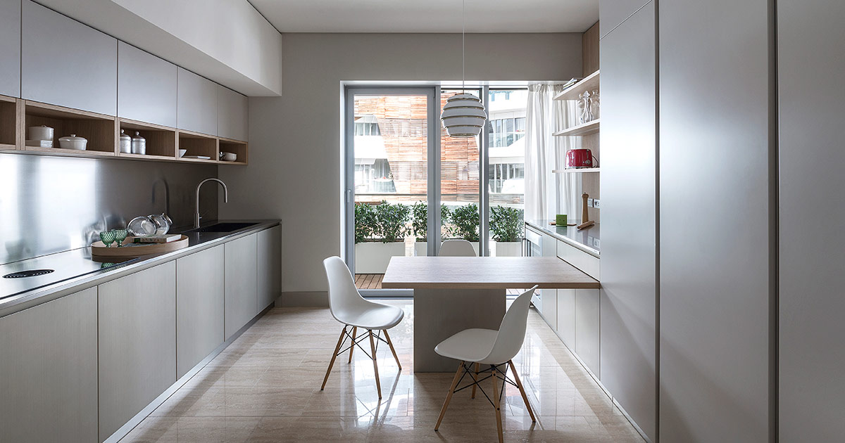 Cucine in materiali naturali | Progetti Cucine Design TM Italia - archivio-materiali-Inspiring-citylife