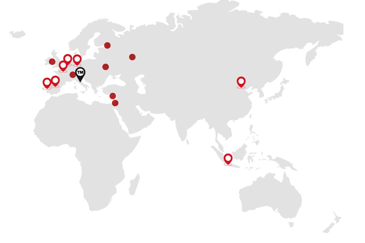 New international partnerships for TM Italia