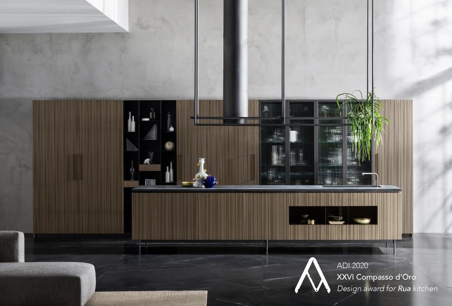 TM Italia vince il suo primo Compasso d'Oro ADI per la cucina Rua, design Ruadelpapavero